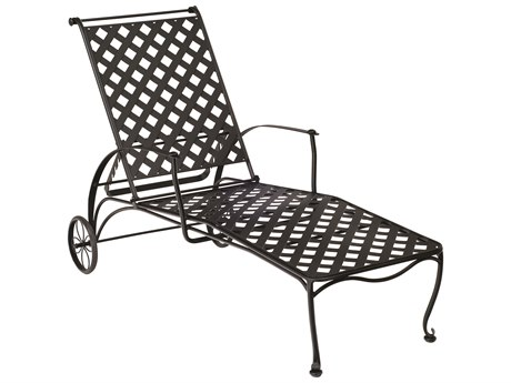 Woodard Maddox Wrought Iron Chaise Lounge