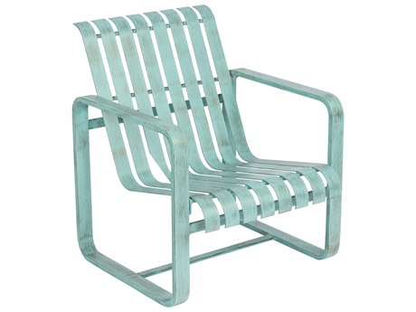 Woodard Colfax Aluminum Lounge Chair w/ Seat & Back Cushion