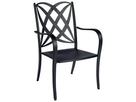 Woodard Apollo Cast Aluminum Dining Arm Chair