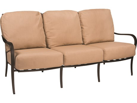 Woodard Apollo Cast Aluminum Sofa PatioLiving