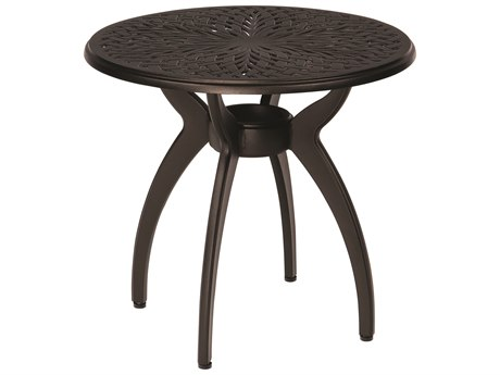 Woodard Apollo Cast Aluminum 24 Round End Table