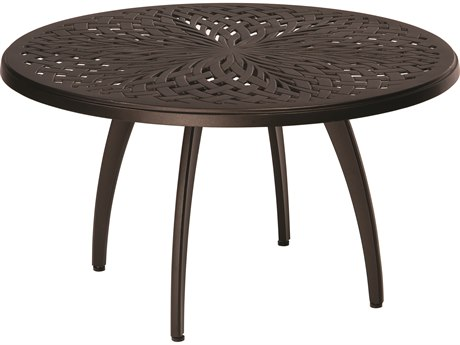 Woodard Apollo Cast Aluminum 36 Round Coffee Table