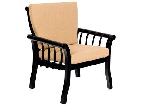 Woodard Rhyss Aluminum Cushion Dining Chair