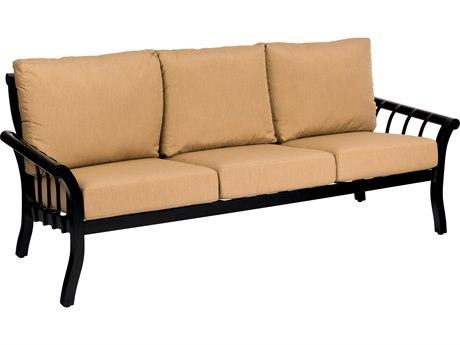 Woodard Rhyss Aluminum Cushion Sofa