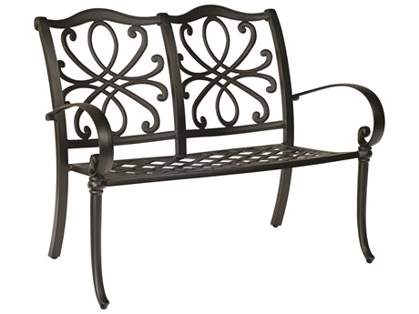 Woodard Holland Cast Aluminum Bench