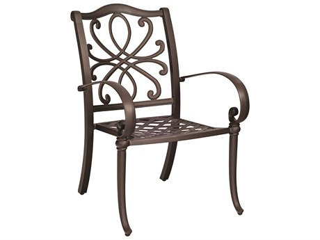 Woodard Holland Cast Aluminum Dining Chair PatioLiving