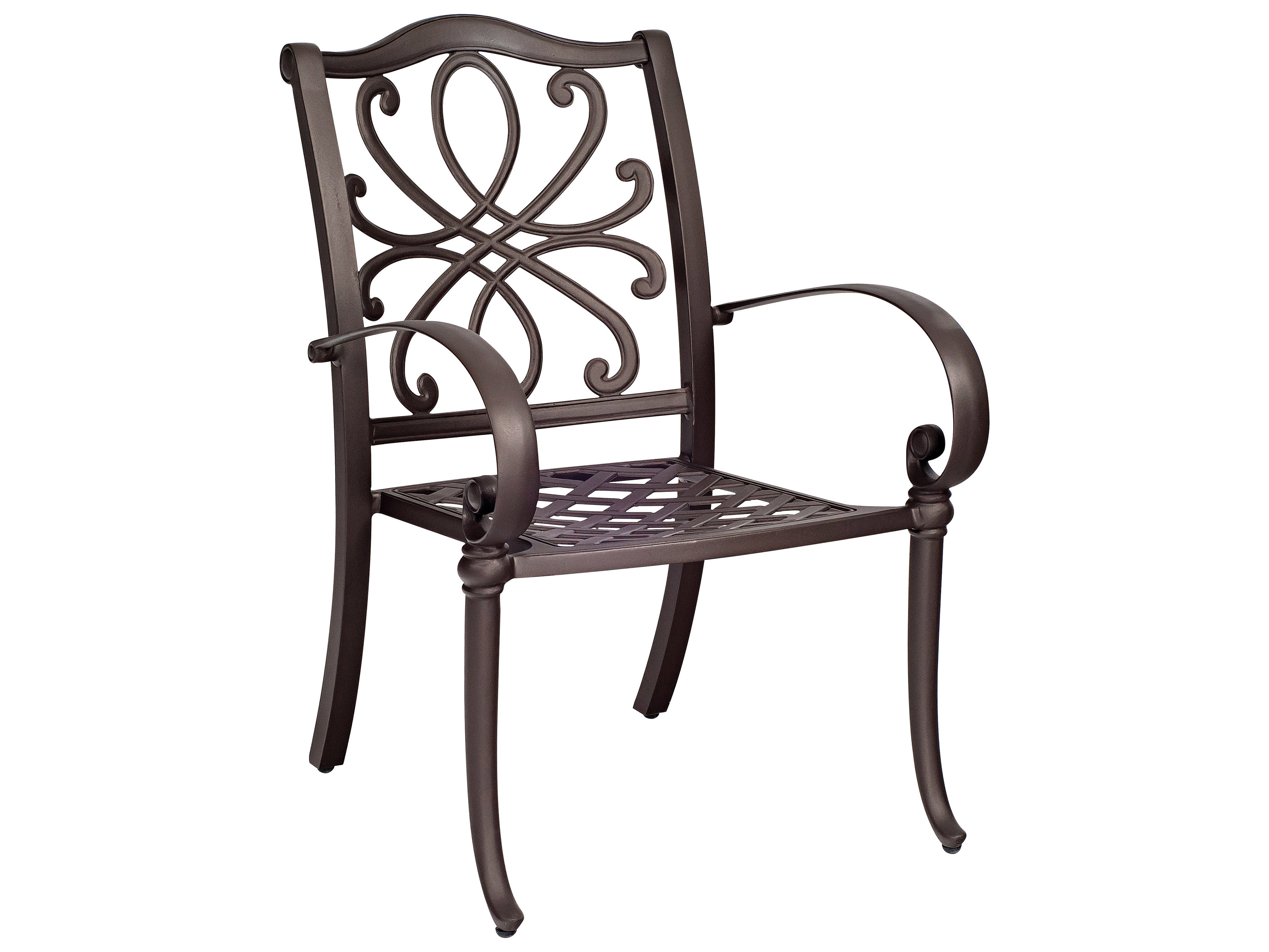 Woodard Holland Stackable Dining Arm Chair Replacement