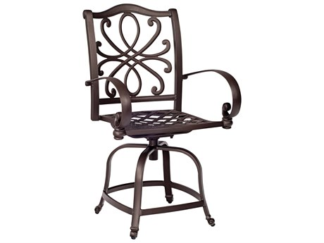 Woodard Holland Swivel Counter Stool Replacement Cushions