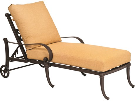 Woodard Holland Cast Aluminum Chaise Lounge