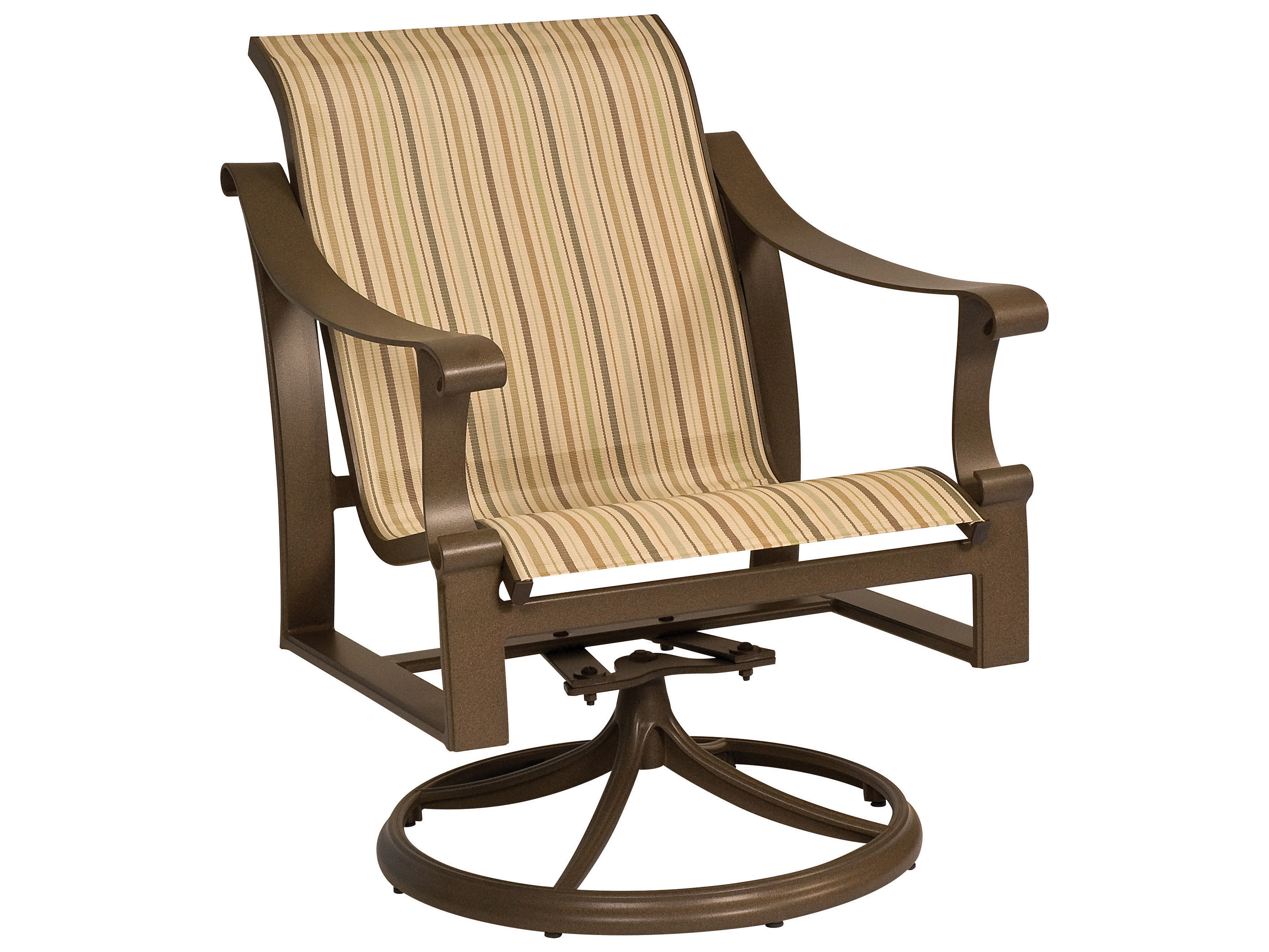 Lakeside padded sling aluminum outdoor furniture by for Outdoor furniture virginia beach