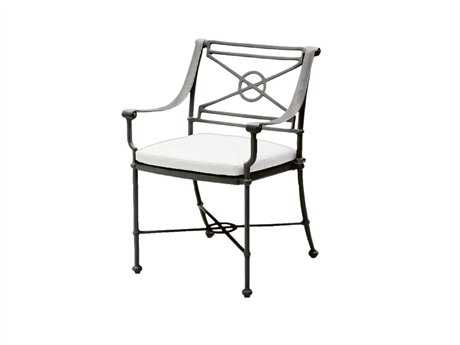Woodard Delphi Attached Dining Arm Chair Replacement Cushions