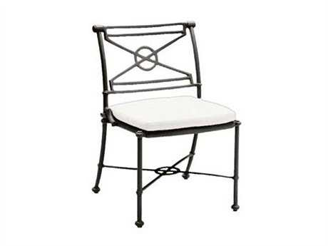 Woodard Delphi Attached Dining Side Chair Replacement Cushions