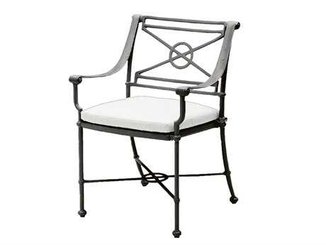 Woodard Delphi Cast Aluminum Cushion Dining Chair