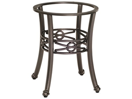Woodard Delphi Cast Aluminum End Table Base WR852400