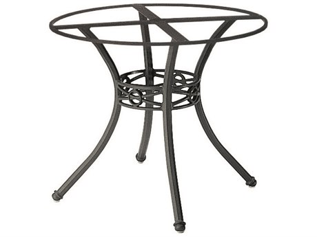 Woodard Delphi Cast Aluminum Round Table Base WR854800