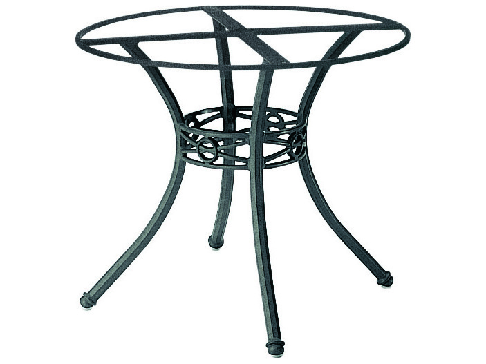 Woodard Delphi Cast Aluminum Round Table Base 854800