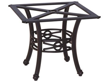 Woodard Delphi Cast Aluminum Chat Table Base