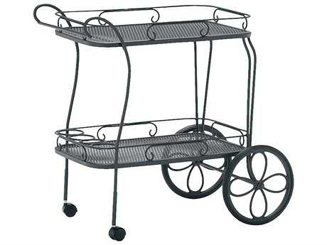 Woodard Mesh Top Serving Cart