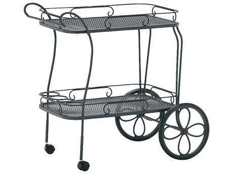 Woodard Mesh Top Serving Cart
