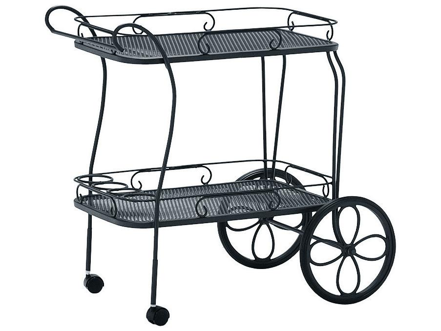 Woodard Mesh Top Serving Cart 880080