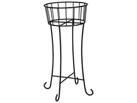 Woodard Wrought Iron Round Planter