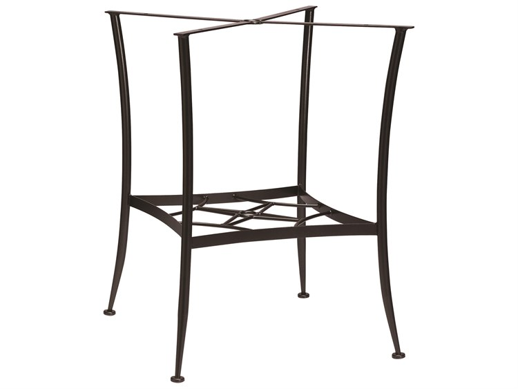 Woodard Universal Wrought Iron Bar Height Dining Table Base Only
