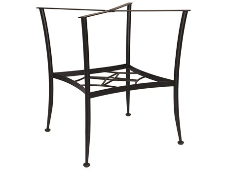 Woodard Universal Wrought Iron Chat Table Base Only