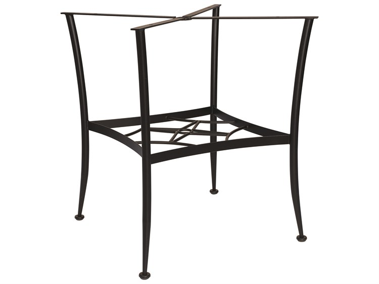 Woodard Wrought Iron Universal Chat Table Base PatioLiving