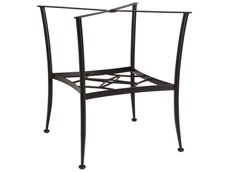 Woodard Wrought Iron Universal Gathering Table Base PatioLiving