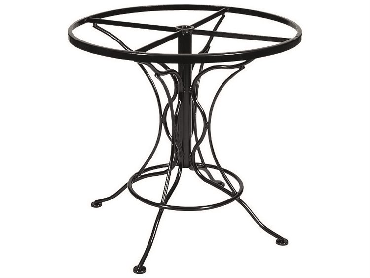 Woodard Wrought Iron Universal Dining Table Base  PatioLiving