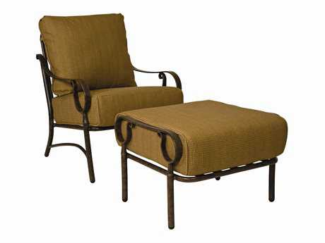 Woodard Ridgecrest Lounge Chair Replacement Cushions