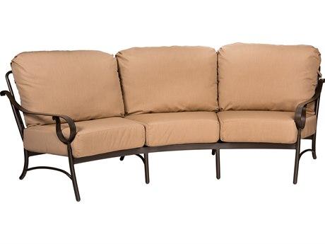 Woodard Ridgecrest Cushion Aluminum Sofa
