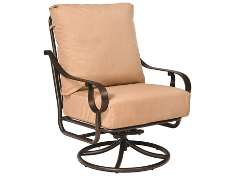 Woodard Ridgecrest Cushion Aluminum Extra Large Swivel Rocker