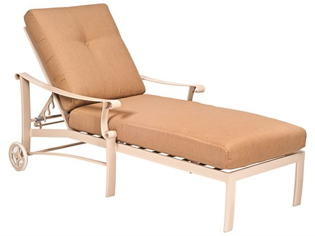 Woodard Bungalow Cushion Aluminum Chaise Lounge
