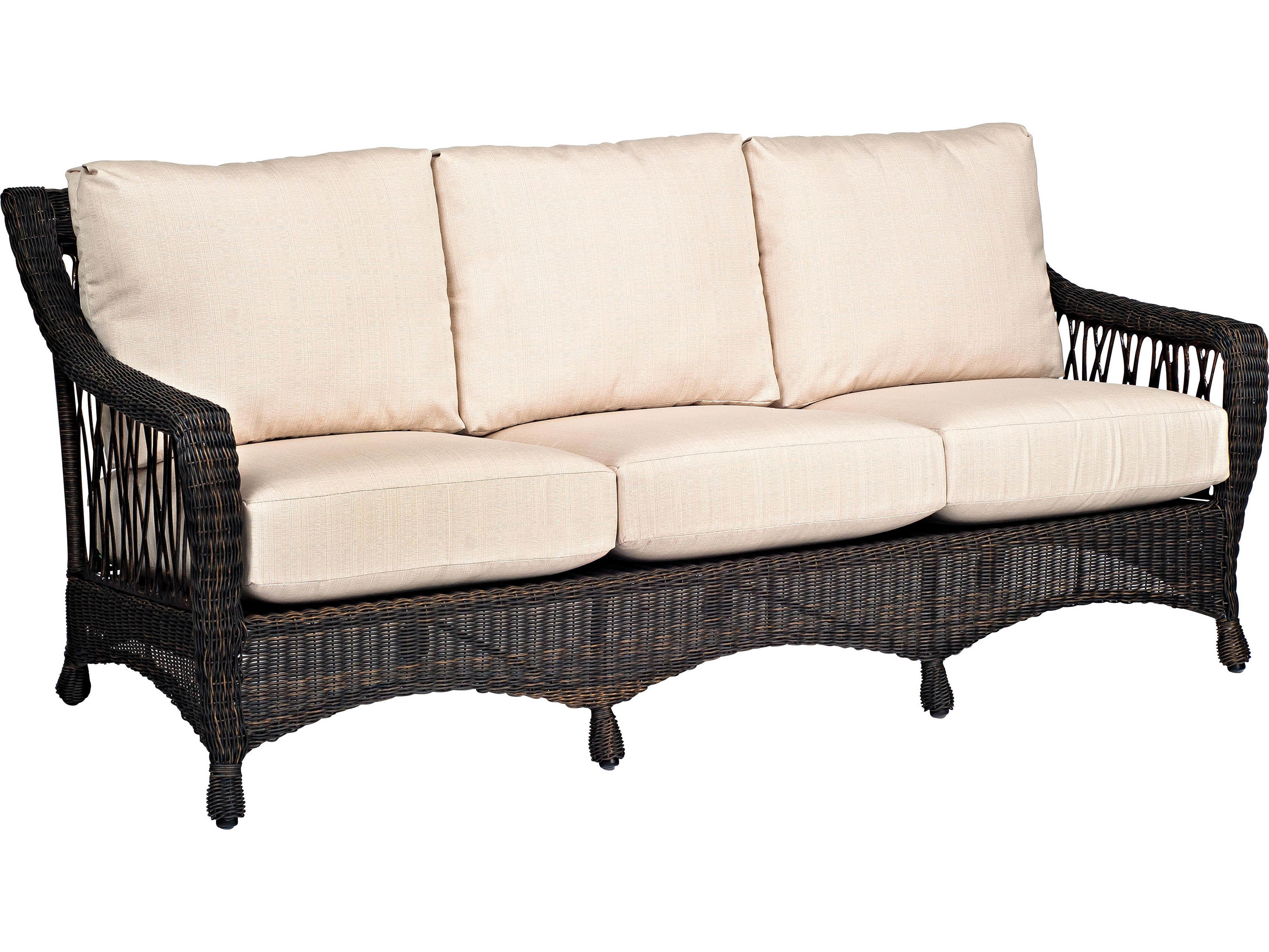 woodard serengeti sofa replacement cushions 910020ch. Black Bedroom Furniture Sets. Home Design Ideas