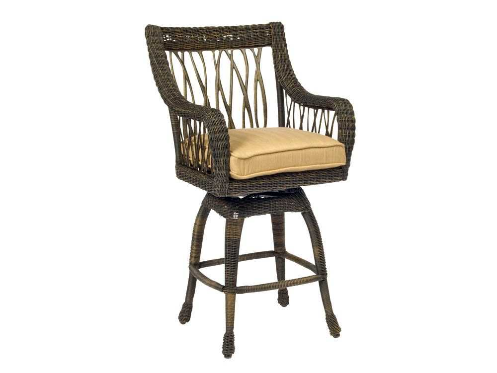 Woodard Serengeti Swivel Bar Stool Replacement Cushions  : WR910068zm from www.patioliving.com size 1000 x 751 jpeg 35kB