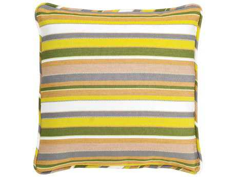 Woodard 20 Square Throw Pillow with Faux Down Fill PatioLiving
