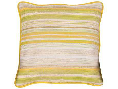 Woodard 20 Square Throw Pillow with Two Sided Fabrics