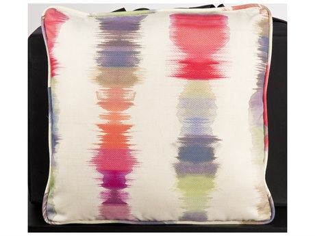 Woodard 20 Square Throw Pillow with Two Sided Fabrics PatioLiving