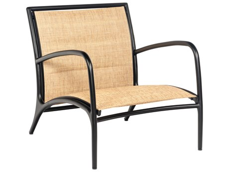 Woodard Orion Padded Sling Aluminum Lounge Chair
