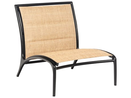 Woodard Orion Padded Sling Aluminum Modular Lounge Chair
