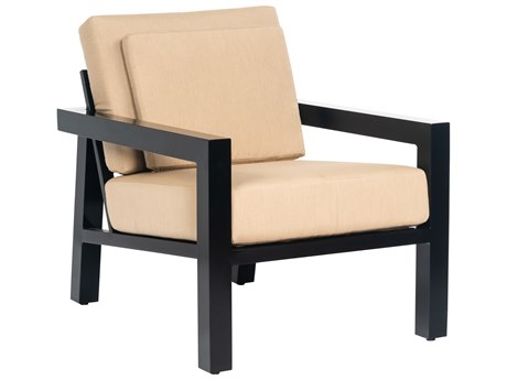 Woodard Soho Aluminum Cushion Lounge Chair