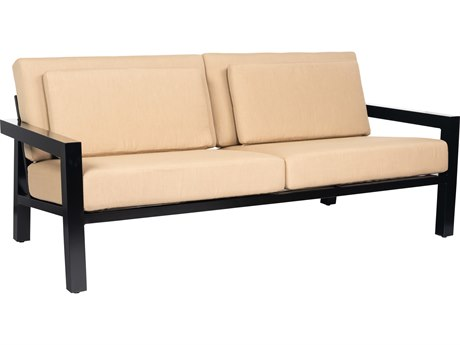 Woodard Soho Cushion Aluminum Sofa