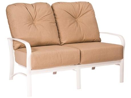 Woodard Fremont Cushion Aluminum Loveseat