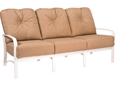 Woodard Fremont Cushion Aluminum Sofa