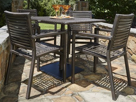 Woodard Whitecraft All Weather South Beach Dining Set