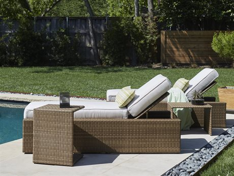 Woodard All Weather Wicker Serene Lounge Set