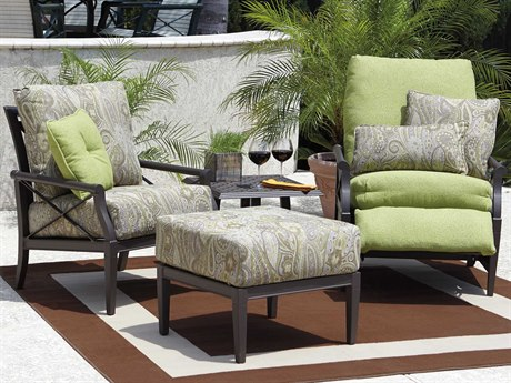 Woodard Andover Cushion Aluminum Lounge Set