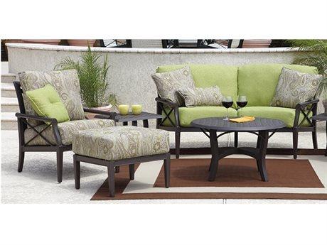 Woodard Andover Cushion Aluminum Lounge Set
