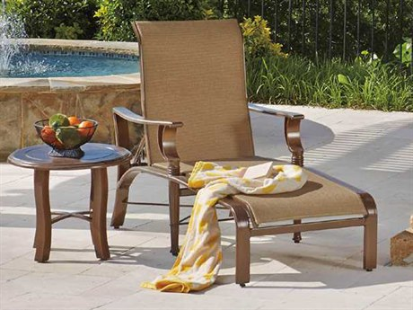 Woodard Arkadia Sling Aluminum Lounge Set